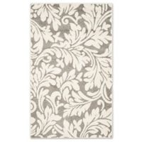Safavieh Amherst Vinca Indoor/Outdoor 2-Foot 6-Inch x 4-Foot Area Rug in Dark Grey