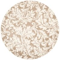 Safavieh Amherst Vinca Indoor/Outdoor 7-Foot x 7-Foot Area Rug in Wheat