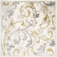 Safavieh Amherst Vinery Indoor/Outdoor 7-Foot x 7-Foot Area Rug in Ivory