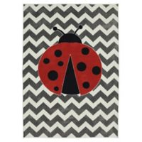Mohawk Home Aurora Little Lady Bug 5-Foot x 8-Foot Multicolor Area Rug