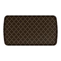 GelPro® Elite Decorator Lattice 20-Inch x 36-Inch Kitchen Mat in Brown