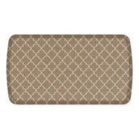 GelPro® Elite Decorator Lattice 20-Inch x 36-Inch Kitchen Mat in Tan