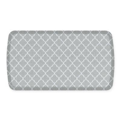 GelPro® Elite Decorator Lattice 20 Inch X 36 Inch Kitchen Mat In Light