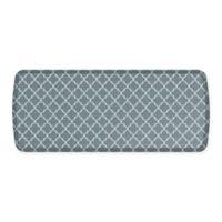 GelPro® Elite Decorator Lattice 20-Inch x 48-Inch Kitchen Mat in Grey