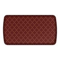 GelPro® Elite Decorator Lattice 20-Inch x 36-Inch Kitchen Mat in Red