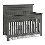 Bel Amore Channing Full Panel 4-in-1 Convertible Crib in Grey
