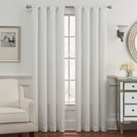 Despina 95-Inch Rod Pocket/Back Tab Window Curtain Panel in White
