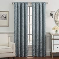 Despina 84-Inch Rod Pocket/Back Tab Window Curtain Panel in Blue