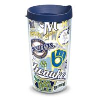 Tervis® MLB Milwaukee Brewers 16 oz. All Over Wrap Tumbler with Lid