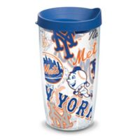 Tervis® MLB New York Mets 16 oz. All Over Wrap Tumbler with Lid