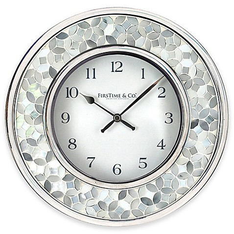 Firstime 174 Arabesque Mosaic Wall Clock Bed Bath Amp Beyond