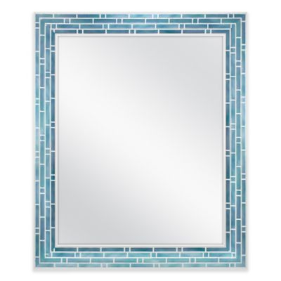 Blue Wall Mirror buy blue wall mirrors from bed bath & beyond