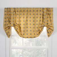 Andros Tie-Up Window Valance in Gold