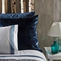 Frette At Home Realmonte Standard Pillow Sham in Ocean