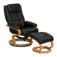 Flash Furniture Contemporary Recliner in Black