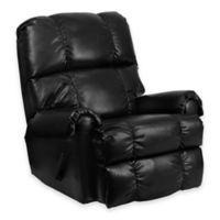 Flash Furniture Ty Recliner in Black