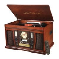 Victrola 7-in-1 Bluetooth® Wooden Music Center