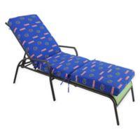 NCAA University of Florida 3-Piece Chaise Lounge Cushion