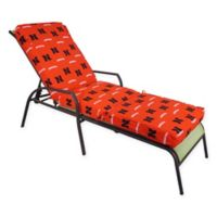 NCAA University of Nebraska 3-Piece Chaise Lounge Cushion