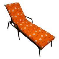 NCAA Clemson University 3-Piece Chaise Lounge Cushion