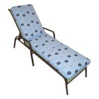 NCAA University of North Carolina 3-Piece Chaise Lounge Cushion