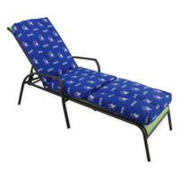 NCAA Duke University 3-Piece Chaise Lounge Cushion