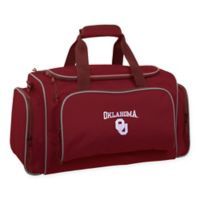 Collegiate Oklahoma Sooners 21-Inch Duffel Bag with Pockets
