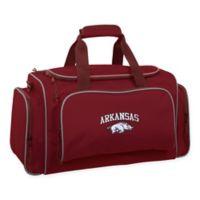 Collegiate Arkansas Razorbacks 21-Inch Duffel Bag with Pockets