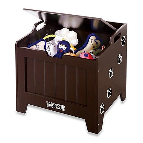 Pet Toy Storage Chest Espresso Bed Bath Amp Beyond