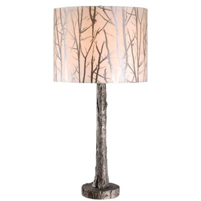 Kenroy Home Fleetwood Table Lamp In Silver