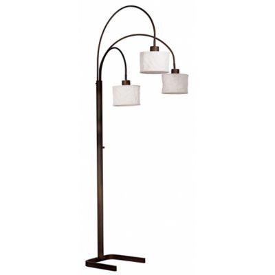 Crush 3-Light Floor Lamp in Bronze - Buy Paper Lantern Floor Lamp From Bed Bath & Beyond