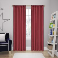 SolarShield® Kate 84-Inch Rod Pocket Room Darkening Window Curtain Panel in Chili