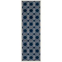 Safavieh Amherst 2-Foot 3-Inch x 7-Foot Ferry Area Rug in Navy