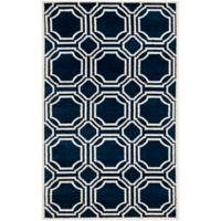 Safavieh Amherst 4-Foot x 6-Foot Ferry Area Rug in Navy