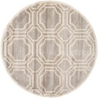 Safavieh Amherst 5-Foot x 5-Foot Ferry Area Rug in Light Grey
