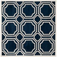 Safavieh Amherst 7-Foot x 7-Foot Ferry Area Rug in Navy