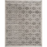 Safavieh Amherst 10-Foot x 14-Foot Clove Indoor/Outdoor Area Rug in Grey/Light Grey