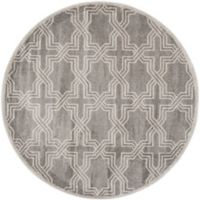 Safavieh Amherst 7-Foot x 7-Foot Derry Indoor/Outdoor Area Rug in Grey/Light Grey