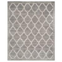 Safavieh Amherst 9-Foot x 12-Foot Links Indoor/Outdoor Area Rug in Grey/Light Grey