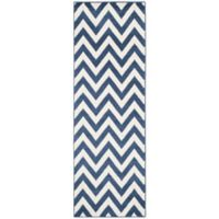Safavieh Amherst 2-Foot 3-Inch x 11-Foot Chevy Area Rug in Navy