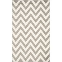 Safavieh Amherst 5-Foot x 8-Foot Chevy Area Rug in Dark Grey