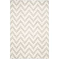 Safavieh Amherst 6-Foot x 9-Foot Chevy Area Rug in Light Grey