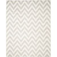Safavieh Amherst 8-Foot x 10-Foot Chevy Area Rug in Light Grey
