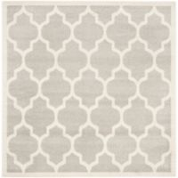 Safavieh Amherst 5-Foot x 5-Foot Whirl Area Rug in Light Grey