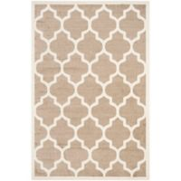 Safavieh Amherst 6-Foot x 9-Foot Whirl Area Rug in Wheat