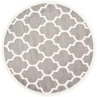 Safavieh Amherst 9-Foot x 9-Foot Whirl Area Rug in Dark Grey