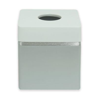 jessica simpson naomi boutique tissue box cover in grey