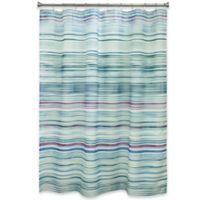 Bacova Indigo Stripe Shower Curtain In Blue