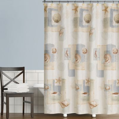 Superb Saturday Knight Bayside Shower Curtain In Neutral