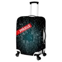 Fragile Large Luggage Cover